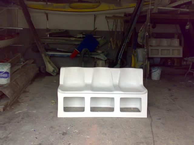 Boat Seats with storage compartments